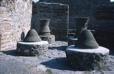 Mills and Millstones at Pompeii by TyB, via Flickr