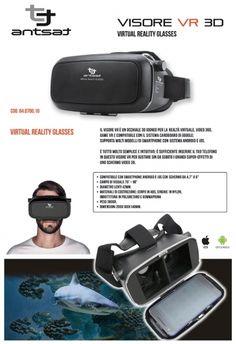 Occhiali Virtual 3D Antsat