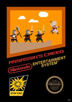 Assassin's Creed, NES style. Posted on imgur.com by PRW9264.