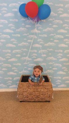 Disney pixar Up theme birthday photobooth