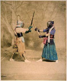 Kendo by Baron Raimund von Stillfried