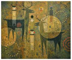 Dan Namingha Paintings | Dan Namingha : Painting Gallery