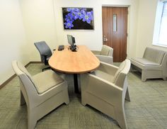 Behavioral Healthcare Facility Renovates Unit With Norix Furniture Products and Matching Artwork. Read More @ http://blog.norix.com/Pine+Rest+Christian+Mental+Health+Services+