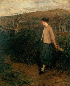 """Sir William Quiller Orchardson  """"The Broken Tryst"""""""