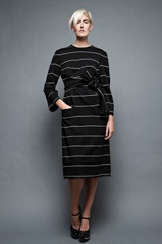 vintage 60s Donald Brooks shift dress wool knit by shoprabbithole, $178.00