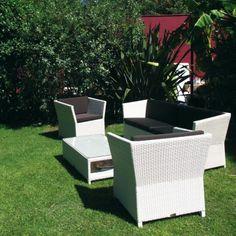 Petit salon de jardin MODENA - 4 Places | Pour des moments de ...