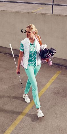 Packed and ready to take your best swing, regardless of where your green is? Women's golf polos with exotic, surf-inspired styles from the Bogner Golf Spring/Summer 2016 collection are perfect for standing out and looking great on any course this summer.