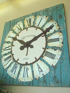 Country clock. I think I could make this