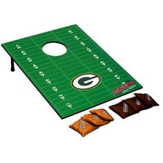 Green Bay Packers Silver Edition Tailgate Toss  http://www.fansedge.com/Green-Bay-Packers-Silver-Edition-Tailgate-Toss-_-777471817_PD.html?social=pinterest_pfid12-12590