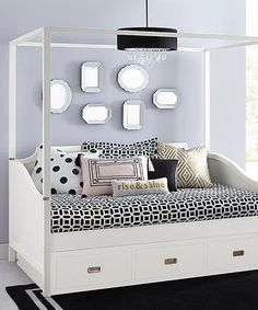 Another great find on #zulily! Hillsdale Tinley Park Canopy Trundle Daybed #zulilyfinds