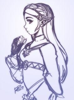 link coloring pages zelda | Free Printable Zelda Coloring ...