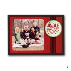 2012 Holiday 7 Easy Family Photo Card