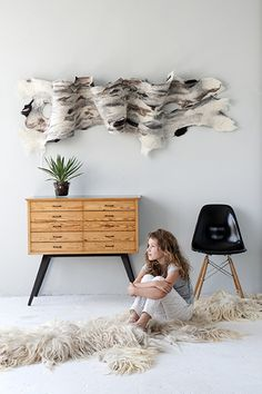 Wool-hangings and amazing site for natural textures