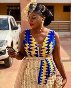 ongratulations to you Matilda dear. Thanks for choosing African Print Wedding Dress, African Wedding Attire, African Attire, African Outfits, African Traditional Wedding Dress, African Fashion Traditional, African Dresses For Kids, African Prom Dresses, African Fashion Ankara