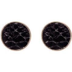 OASIS Snake Stud Earrings (145 RUB) ❤ liked on Polyvore featuring jewelry, earrings, stud earrings, black, snake jewelry, snake earrings and earring jewelry