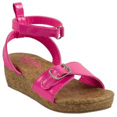 Wedge sandals ooohh haha my bella has these, they are adorable. Got them at Ross