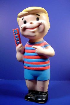 1960's Clark Bar Boy Vinyl Toy