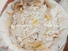 Greek Recipes, Creative Food, Pie, Cheese, Cooking, Blog, Greek Beauty, Food Ideas, Torte