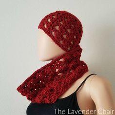 Climbing Shells Beanie Crochet Pattern - The Lavender Chair