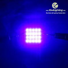 EPILEDS 60w UV 395nm LED Emitter -     VF: 30v~36v, IF: 700mA~1400mA, Emitted color: Violet UV  395~410nm, 20pcs 3w EPILEDS LEDs,                                                              $24.99    : EPILEDS 60w UV 395nm LED Emitter