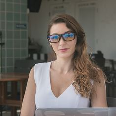 Swanwick is the creator of Swannies Blue Light Blocking Glasses for Better Sleep and Productivity.) sleep better, feel great and look good while increasing your productivity and overall wellness. Health And Wellness, Health Tips, Productive Day, Eye Strain, Natural Solutions, Happy People, Back Pain, Specs, Cat Eye Sunglasses