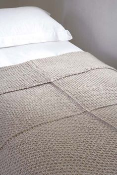 Free knitted chunky blanket pattern