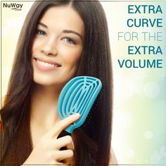 The curve adds depth and lift for extra volume!