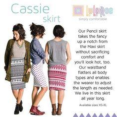 Cassie skirt from LulaRoe Https://www.facebook.com/groups/naomisboutique
