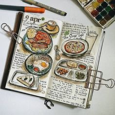 travel journal - Tap the link to see the newly released survival and traveling gear for all types of travelers! Journal D'art, Sketch Journal, Scrapbook Journal, Bullet Journal Ideas Pages, Travel Scrapbook, Bullet Journal Inspiration, Art Journal Pages, Kunstjournal Inspiration, Journal Aesthetic