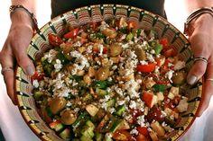 Spaghetti Squash Salad by phat beets!