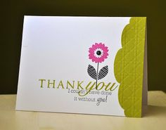 Maile Belles - PTI.  Love the use of the edger for the card end.  So my style with the white space.