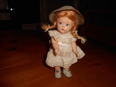VINTAGE COMPOSITION  VOGUE TODDLES in  TAGGED DRESS HAT CUTE