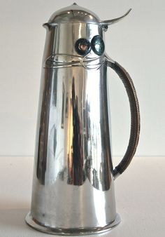 Large Pewter Flagon by Archibald Knox Archibald Knox, Arts And Crafts Furniture, Arts And Crafts House, Manx, Art Nouveau, Art Deco, Art And Craft Design, Design Art, Cymric
