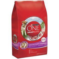 Purina ONE SmartBlend Healthy Puppy Formula Puppy Premium Dog Food 16.5 lb. Bag