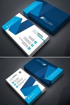 Business card template design - Business Card vol 08 Corporate Identity Template 75810 – Business card template design Business Cards Layout, Real Estate Business Cards, Free Business Cards, Professional Business Cards, Game Design, Web Design, Logo Design, Design Layouts, Graphic Design