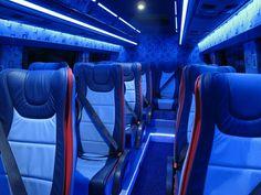 Chartered Bus, Truck Interior, Plane, Car Seats, Trucks, Lights, Aircraft, Truck, Lighting