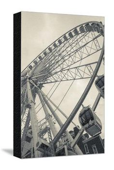 Georgia, Atlanta, Centennial Olympic Park, Ferris Wheel Photographic Print by Walter Bibikow at Art.com