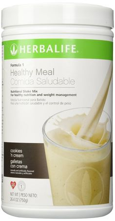 Herbalife F1 Cookies and Cream Shake Mix, 26.4 ounces >>> Continue to the product at the image link. (This is an Amazon Affiliate link and I receive a commission for the sales)
