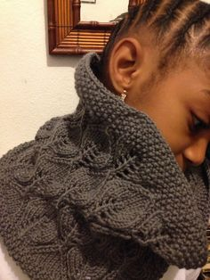 Free Pattern: Leaving Cowl by Maria Olsson