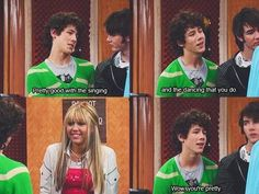 I was always in love with Nick, so seeing him as a bumbling fool melted my heart!