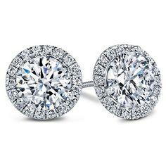 Glamorous Diamond stud earrings