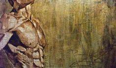 "Saatchi Art Artist sand art bluto; Printmaking, ""man - Limited Edition 3 of 3"" #art"