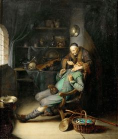 Gerrit Dou - The Dentist | Flickr - Photo Sharing!