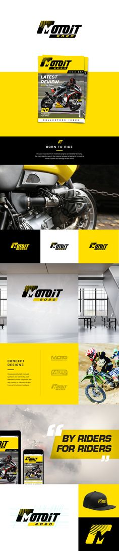 We created a re-brand Moto.it a motorbike and automotive publication for their 2020 anniversary. This logo was inspired by motorbike engine designs and MotoGP branding. The main objective was to find a balance between the logomark and logotype to create a sense of speed and prestige for the brand. #logodesigninspiration #branding #logodesign #graphicdesign #motorbike #sportsbike #automotive #motorsport