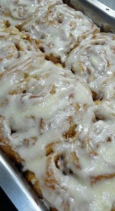 Apple Orchard Cinnamon Rolls | Baking Blond
