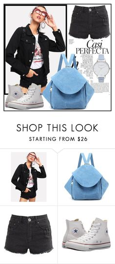 """""""Bagail 29"""" by dzemila-c ❤ liked on Polyvore featuring Whiteley, Liquor n Poker, Converse, Olivia Burton and diyouth"""
