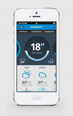 Octopus Creative – Snowboard/Ski Tracking App