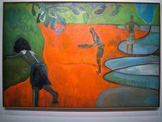 Peter Doig, Paragon, 2006, Oil on linen, MMFA 2014, Photo N. Slejskova