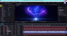 After Effects 'HOLOGRAM' Toturial by NPS3D