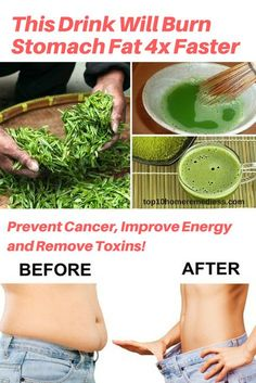 This Drink Will Burn Stomach Fat 4x Faster Prevent Cancer Improve Energy and Remove Toxins